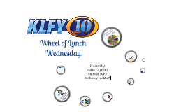 wheel of lunch by callie gagnard on prezi