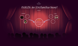 FABLES: A Familiar Story?
