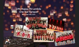 UNC Kappa Phi Lambda
