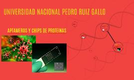 APTAMEROS Y CHIPS DE PROTEINAS