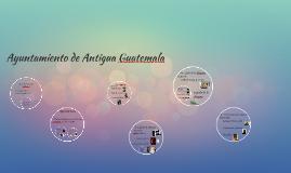 Ayuntamiento de Antigua Guatemala
