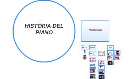 HISTÒRIA DEL PIANO