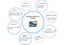 FABRICATION KEY TERMS