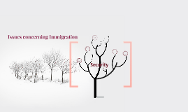 Issues concerning immigration