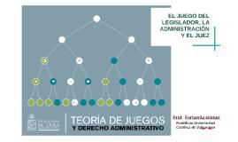 El juego del legislador, la administración y el juez