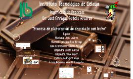 Proceso Chocolate_tiempos de op. y diag proceso