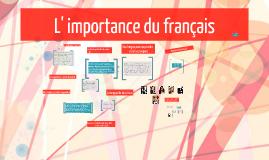 Pourquoi le français?