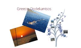 Greece, Dodekanisos