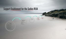 Support Enablement for the Sodius RLIA