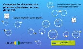 Competencias docentes para entorno digital.