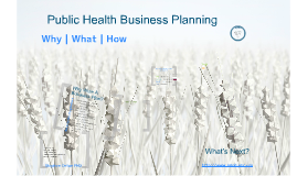Copy of The Business Of Public Health