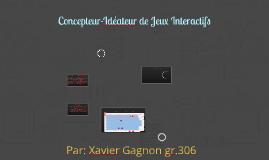 Concepteur-Idéateur de Jeux Interactifs