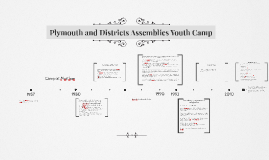 Plymouth and Districts Assemblies Youth Camp