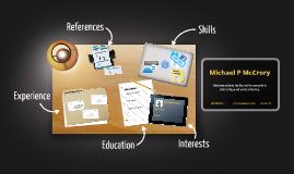 Desktop Prezumé by Michael McCrory