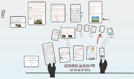 ZONIFICACION DE ALMACENES