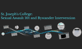 St Joe's SA 101, Bystander Intervention