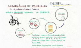 SEMINÁRIO DE PARTILHA