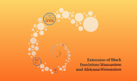 Extension of Black Feminism: Womanism and Africana Womanism