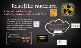 Reacţiile nucleare
