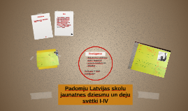 Padomju Latvijas skolu jaunatnes dziesmu un deju svētki I-IV
