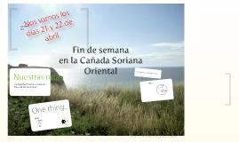 """""""Recorriendo la Cañada Real Soriana Oriental"""""""