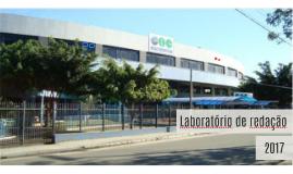 Apresentação do Laboratório de Redação