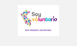 RED AREQUIPA VOLUNTARIA