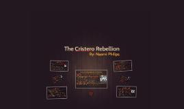 The Cristero Rebellion