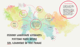 Second Language Literacy: Putting HIgh Needs ESL Learners in