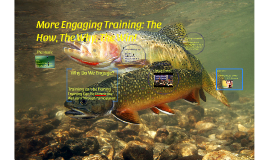 Engaging Training: How, Why,