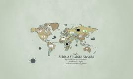 ÁFRICA Y PAÍSES ÁRABES