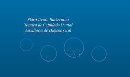 Placa Dento Bacteriana