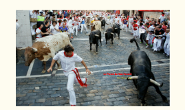 La Fiesta de San Fernin
