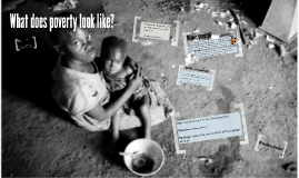 3. What does poverty look like?