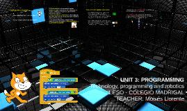 UNIT 3: PROGRAMMING