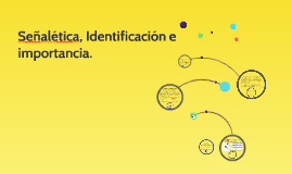 Señalética, Identificación e importancia.