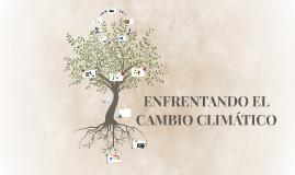 ENFRENTANDO EL CAMBIO CLIMATICO