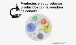 Productos y subproductos producidos por la levadura de cerveza