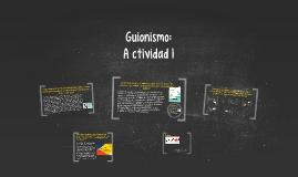 Guionismo Actividad 1
