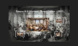 Romains de la décadence, T.Couture - analyse
