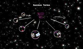 SUCCESS TERMS