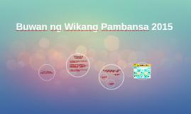 Buwan ng Wikang Pambansa 2015