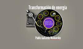 Copy of transformación de energía