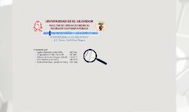 TITULARIZACIÓN EN EL SALVADOR