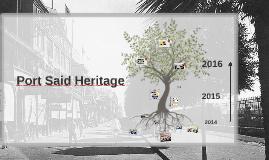 Port Said Heritage