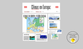 Copy of CIimas en Europa: