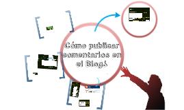 Copy of Como publicar en el blog