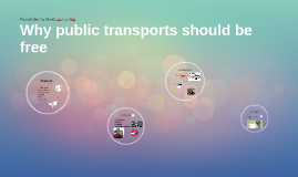 Why public transports should be free