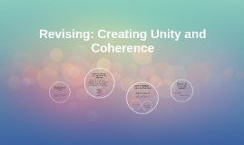 Revising: Creating Unity and Coherence