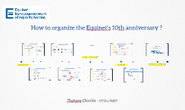 Equinet 10th anniversary